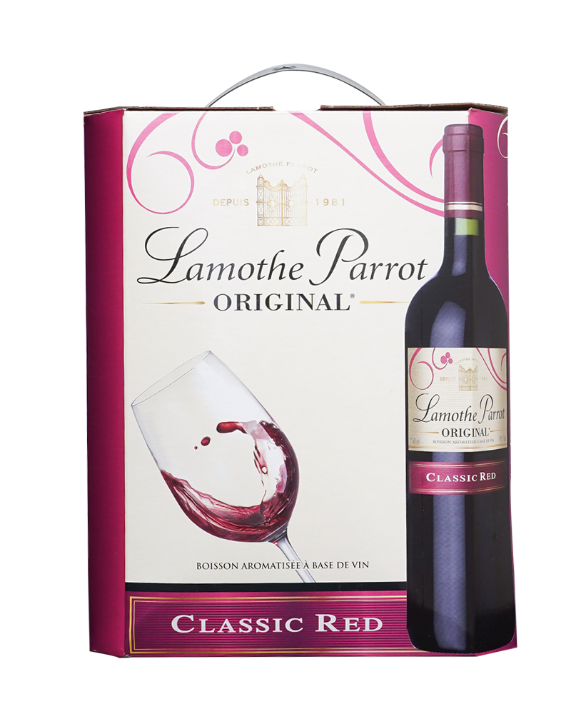 lamothe original red 3l
